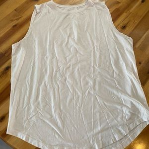 Lululemon muscle tank, size 10. Light pink